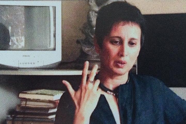 Interview with Helen DeWitt and Anna Thew 2009 (Still: Gordon Shrigley)