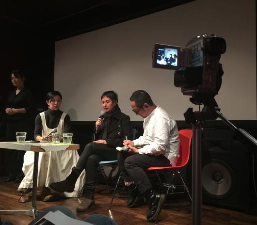 Julia Dogra-Brazell in conversation with Junko Gosho, Uplink Tokyo 2016